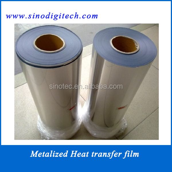 Gold Metalized pet film for heat transfer