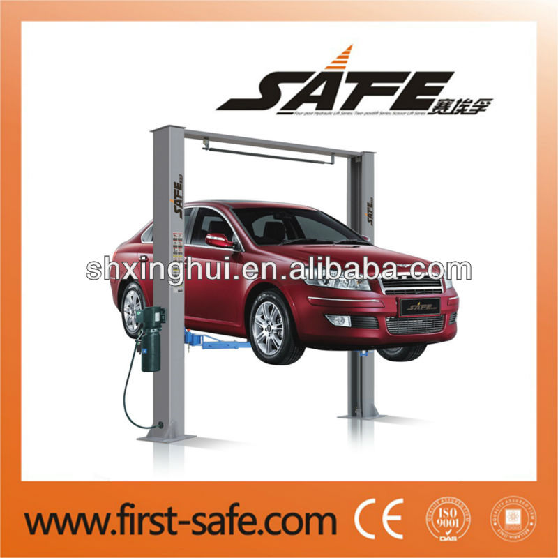Clear floor auto lift with CE certificate