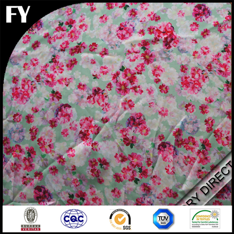 Digital Textile Printing Customized Hot sale New Design digital printing silk georgette fabric