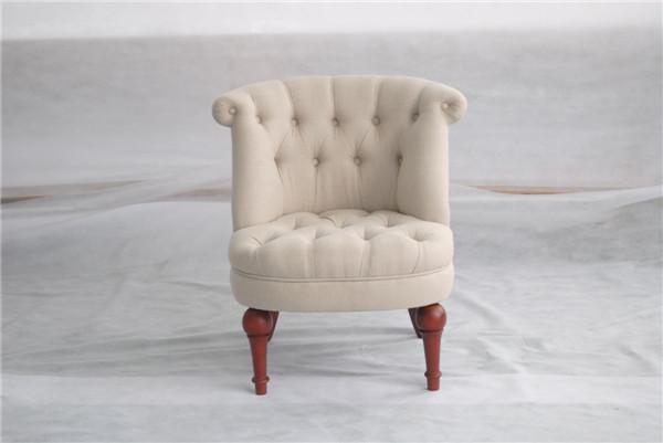 Lage prijs stof club stoelen houten woonkamer stoelen franse ...