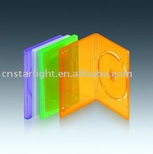 14mm DVD Case 1 disc Smooth Clear plastic