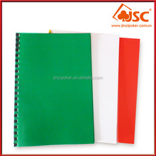 China Factory Promotional Printable Transparent A4 Plastic Binding Cover