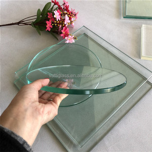 3mm 4mm 5mm 6mm 8mm 10mm 12mm 15mm thick clear Toughened Tempered Glass m2 panels price for sale