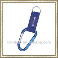 Promotion gift aluminium carabiner key chain