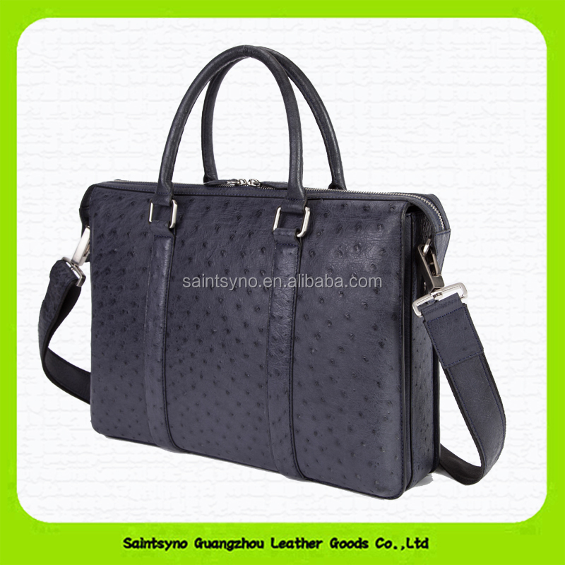 15044 Fashion custom executive laptop bag genuine leather men briefcase / hand bag