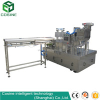 fully automatic spouted bag liquid filling machine for mago juice
