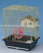 Wire Hamster Cage with plastic toys
