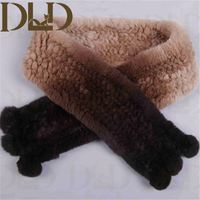 Rex Rabbit Fur Ringlets Fashion Scarf 2015