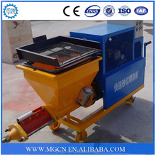 All export products cement wet sand plastering white cement wall putty spray machine