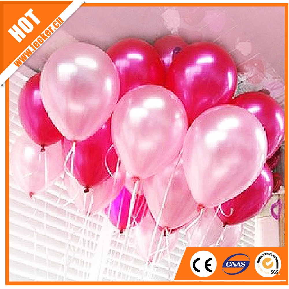 100% Latex Balloon 10inch Metallic Color Printable Ballons 12 inch, Helium Factory Wholesale