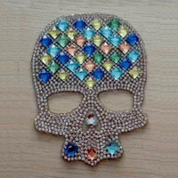 Crystal Skulls Wholesale Good Quality Fluorescent