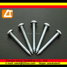 Factory direct cheap price pan head self tapping drywall screw with zinc plated