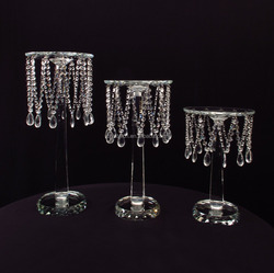 Crystal flower stand for wedding or party decoration