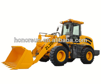 ZL20F mini wheel loader with CE /2000KG WHEEL LOADER