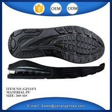 Fashion shoes sole women air cushion sport casual shoes outsole supplier