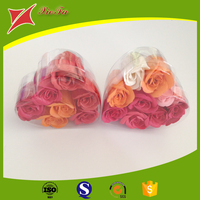 Clear Folding Package Box Love Heart