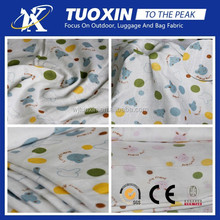 2014 polyester printed bamboo fabric organic fabric for home textile
