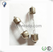 SV8.5 3175 Auto miniature festoon bulb T10X36, automotive dome light bulb, auto license plate light lamp