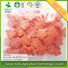 Good quality organic healthy sweet block frozen carrot