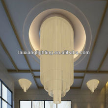 2014 auditorium chandelier, andy sizes customized chandelier