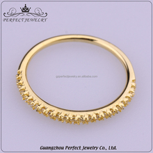 10 Pcs Low Moq Factory Price Wholesale Plating 18K Gold Silver Elegant Latest Ring Designs For Girls