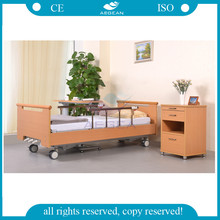 AG-WS001 wooden type Three Crank adjustment manual nursing home beds