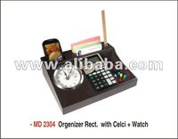 Promotional Gift - Organizer with Calculator + Watch