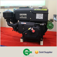 single cylinder diesel motorcycle engine Water-cooled Diesel Engine CG16 CHANGGONG design