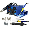 2in1 862D+ 110V SMD Rework Soldering Station + Soldering Iron Hot Air Gun 110V