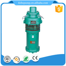 QY series oil immersed submersible pump 2.2 KW mining used submersible water pump