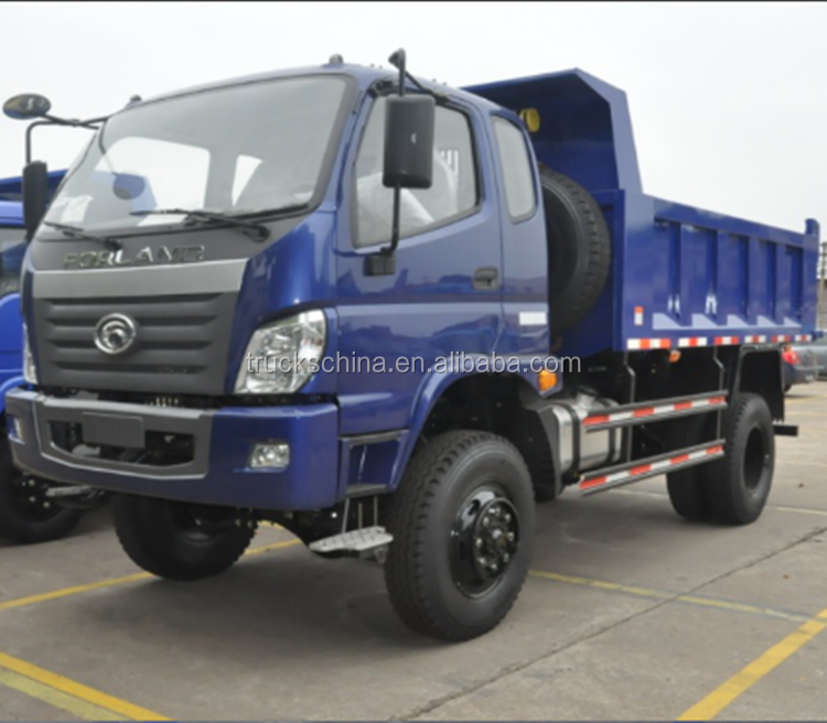 Foton Forland 4x4 off road dump truck for sale