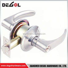 Wholesale zinc alloy high security cylindrical lever front door handles and locks