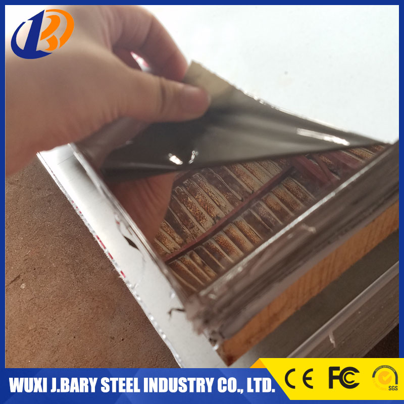 Elevator decoration cold roll and hot roll mirror surface 304 stainless steel sheet