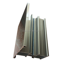 china factory aluminium window sections for aluminun sliding and casement window profiles
