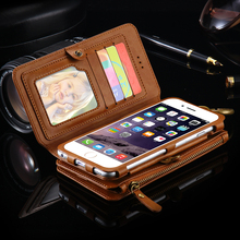 New Arrival FLOVEME 2 In 1 PU Leather Retro Wallet Design For Samsung ,Phone Case For Samsung galaxy S8 S8+