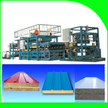 rungu worthy Plastic eps sandwich roof tile cold forming machinery/aluminium composite panel machine made in