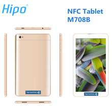 HIPO M708B Tablet PC Dual Sim Card 7 polegadas NFC Tablet PC
