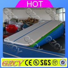 Inflatable air track ramp / gymnastic air incline triangle ramp mats