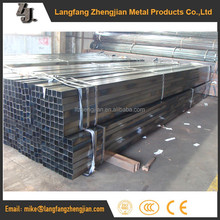 easy bending small diameter thin wall rectangular steel tube