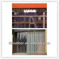 PVC hanging Transparent soft curtain flexible PVC curtain
