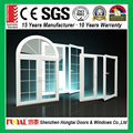 Europe style energy save aluminum frame glass arch window