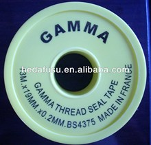 100% ptfe thread seal tape high quality high temperature standard water pipe tape