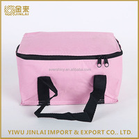 600D polyester disposable promotional cheap cooler bag