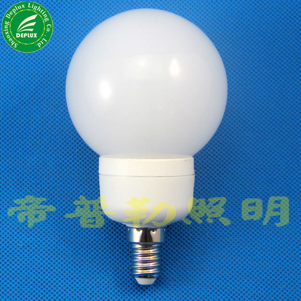 Global E12 E14 CFL light bulbs