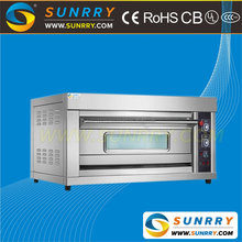 High efficiency used bakery rotary gas deck oven
