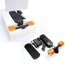 wholesale boosted electric skateboard part accessories 500w*2 dual hub motor remote longboard kit for sale in China