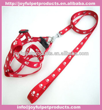 Pet Puppy Cat Adjustable Harness Lead leash Traction rope colorful Joyful-132087