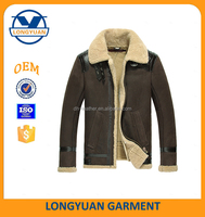 latest design leather jacket winter coats for men korean