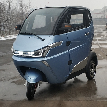 1500W motor enclosed electric tricycle with lithium battery