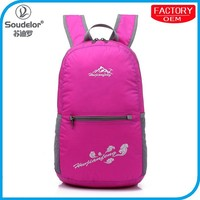 2016 New Products daily foldable backpack wholesale